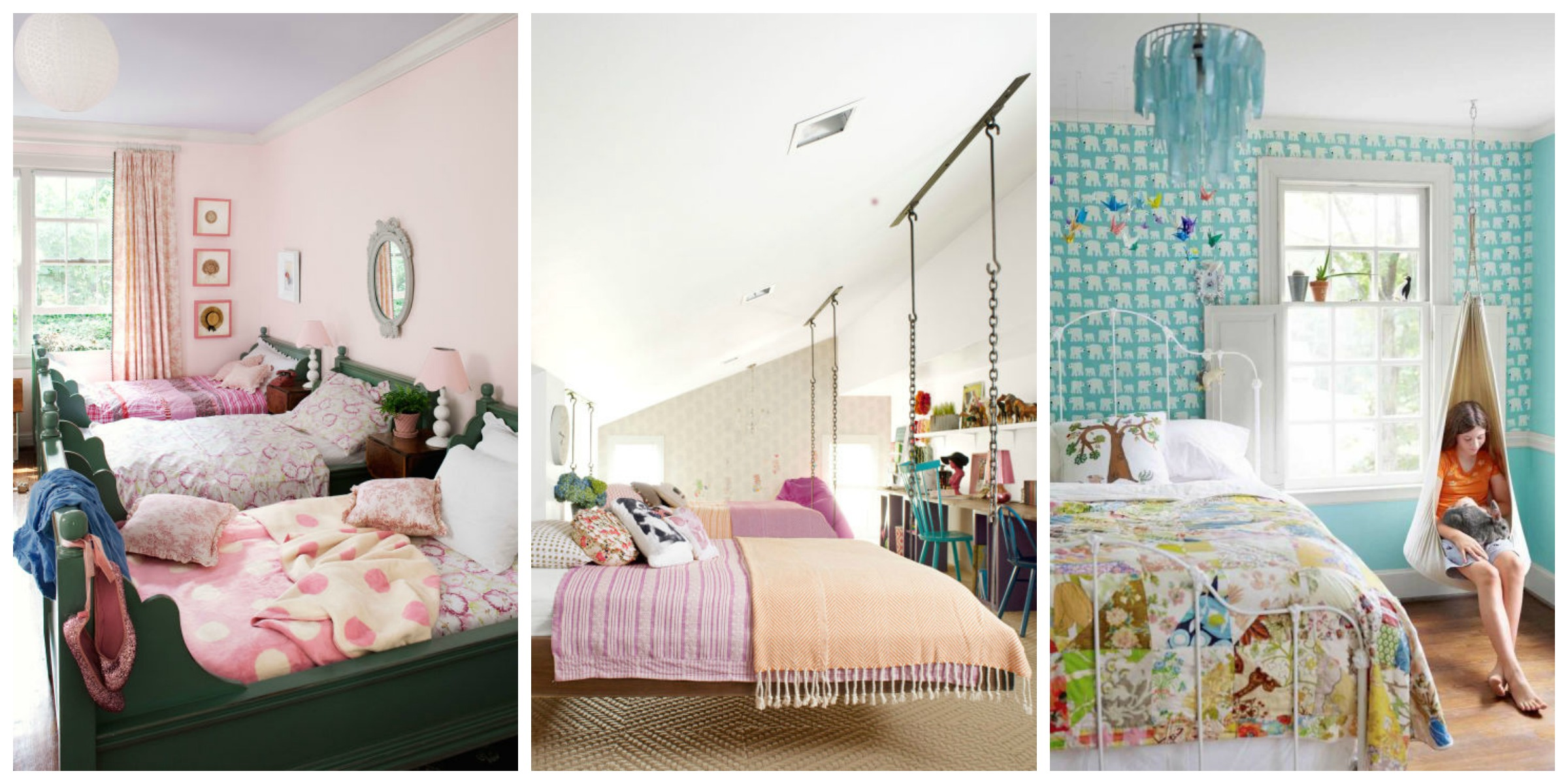 12 Fun Girl's Bedroom Decor Ideas - Cute Room Decorating ... on Room Decorations For Girls  id=21786
