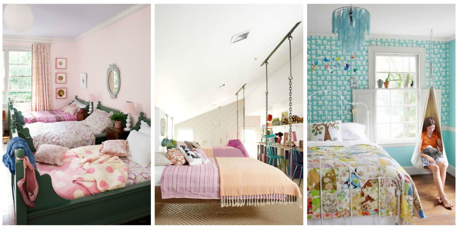 12 Fun Girl's Bedroom Decor Ideas - Cute Room Decorating ... on Girls Room Decor  id=70476