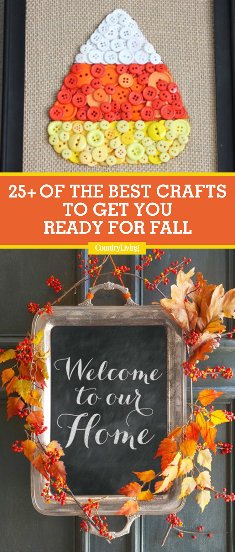 country living craft ideas 25 best fall crafts easy diy home decor ideas for fall 3711