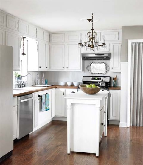 Before And After Of This Beautiful Open Concept Kitchen: Inspiring Small Kitchens