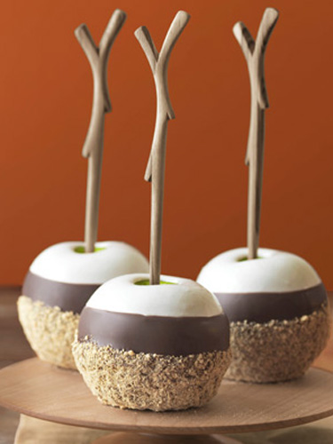 triple dipped smores apples