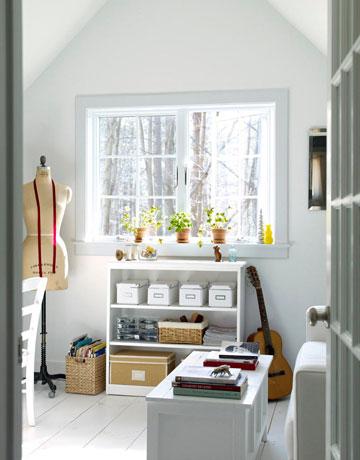 spare room design ideas - Shaker House Decorating