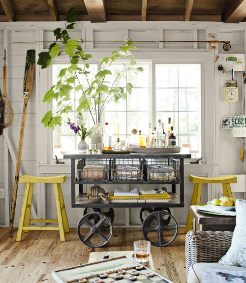 Lake House Themed Decor And Home Design