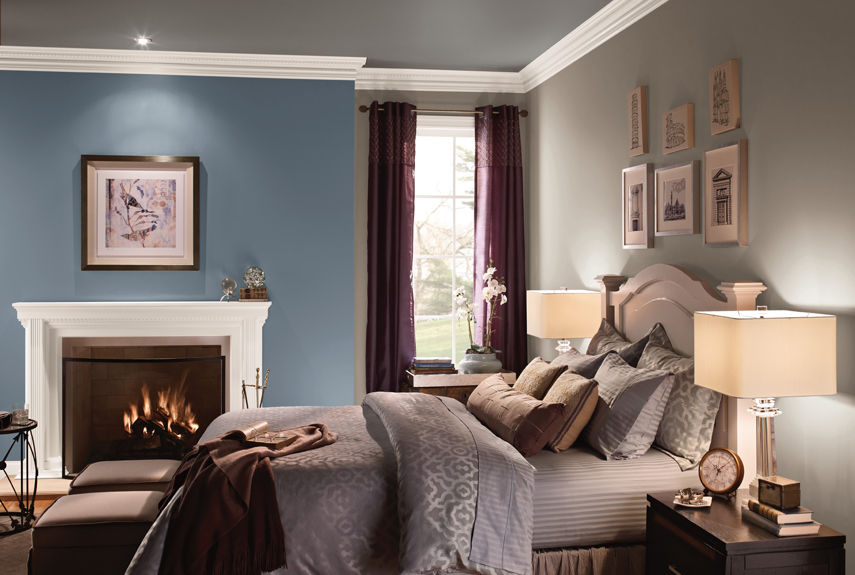 Blue Living Room Behr Paint | Centerfieldbar.com