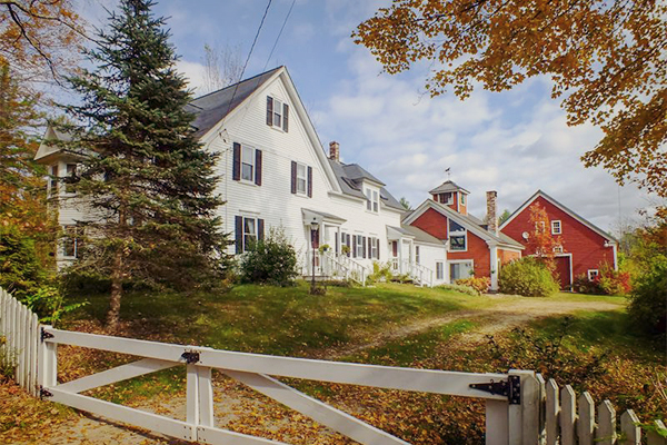 Historic homes in new england home review for New england homes com